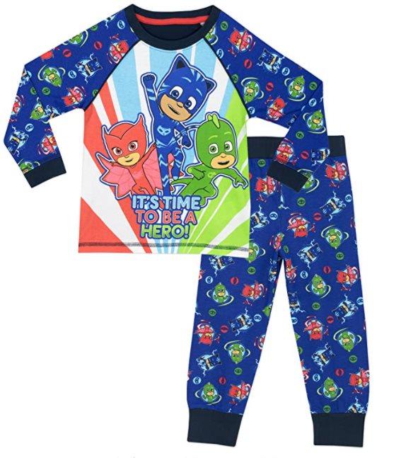 pijama largo ninos 6 anos